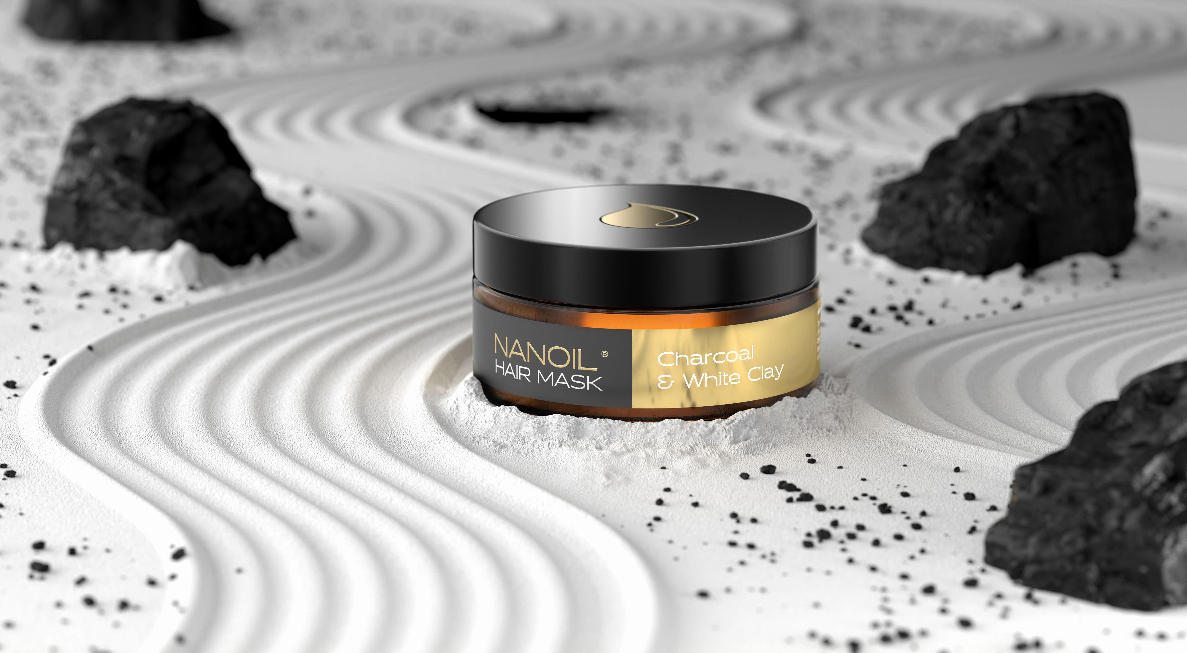 nanoil charcoal haarmaske