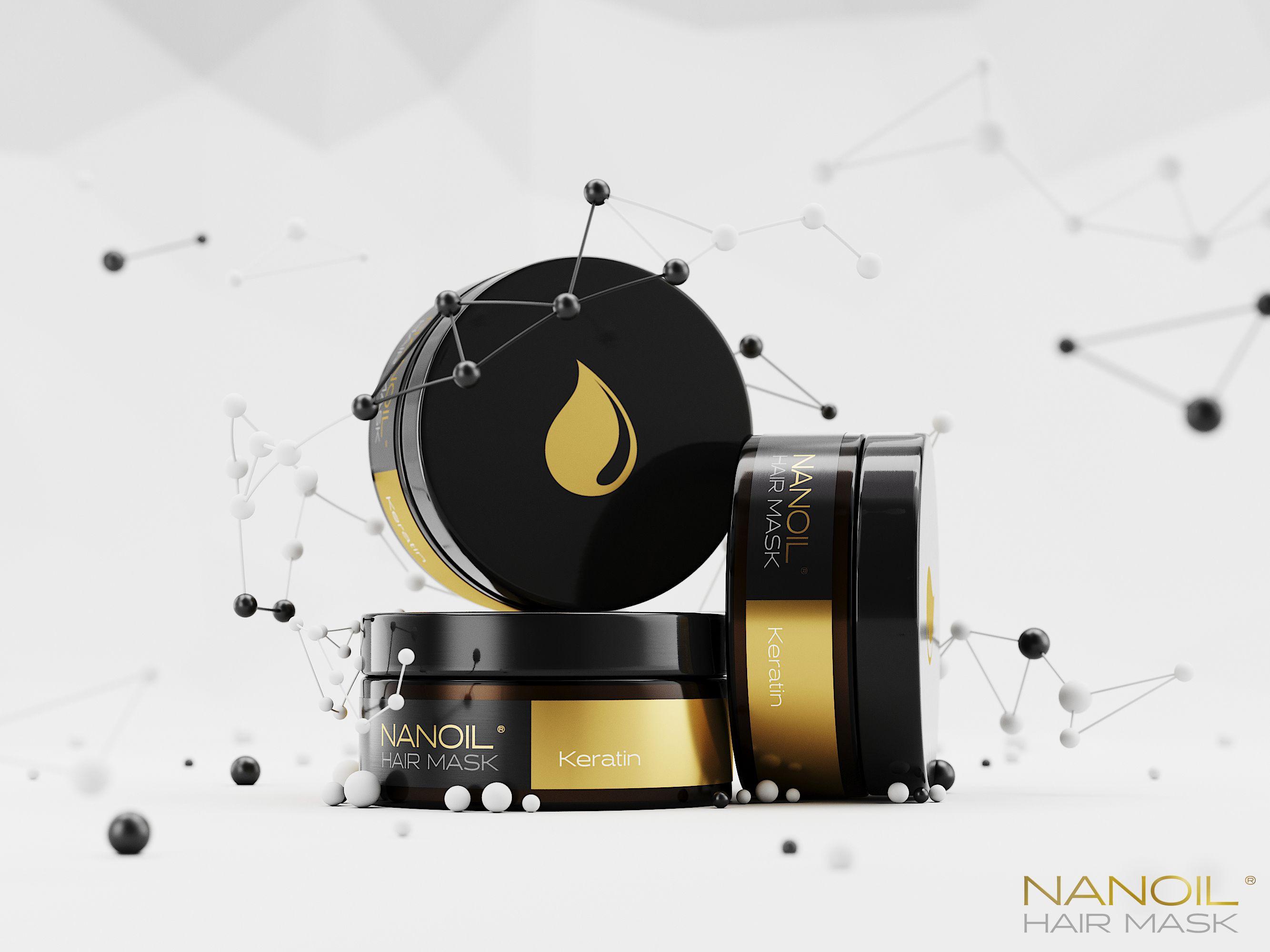 die besten Keratinmasken für Haare Nanoil